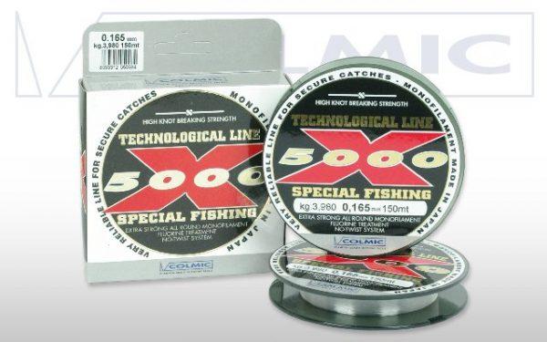 Colmic x5000 vislijn