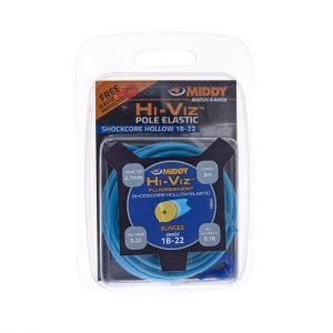 Middy hi-viz hollow elastiek blauw 18-22 2,7