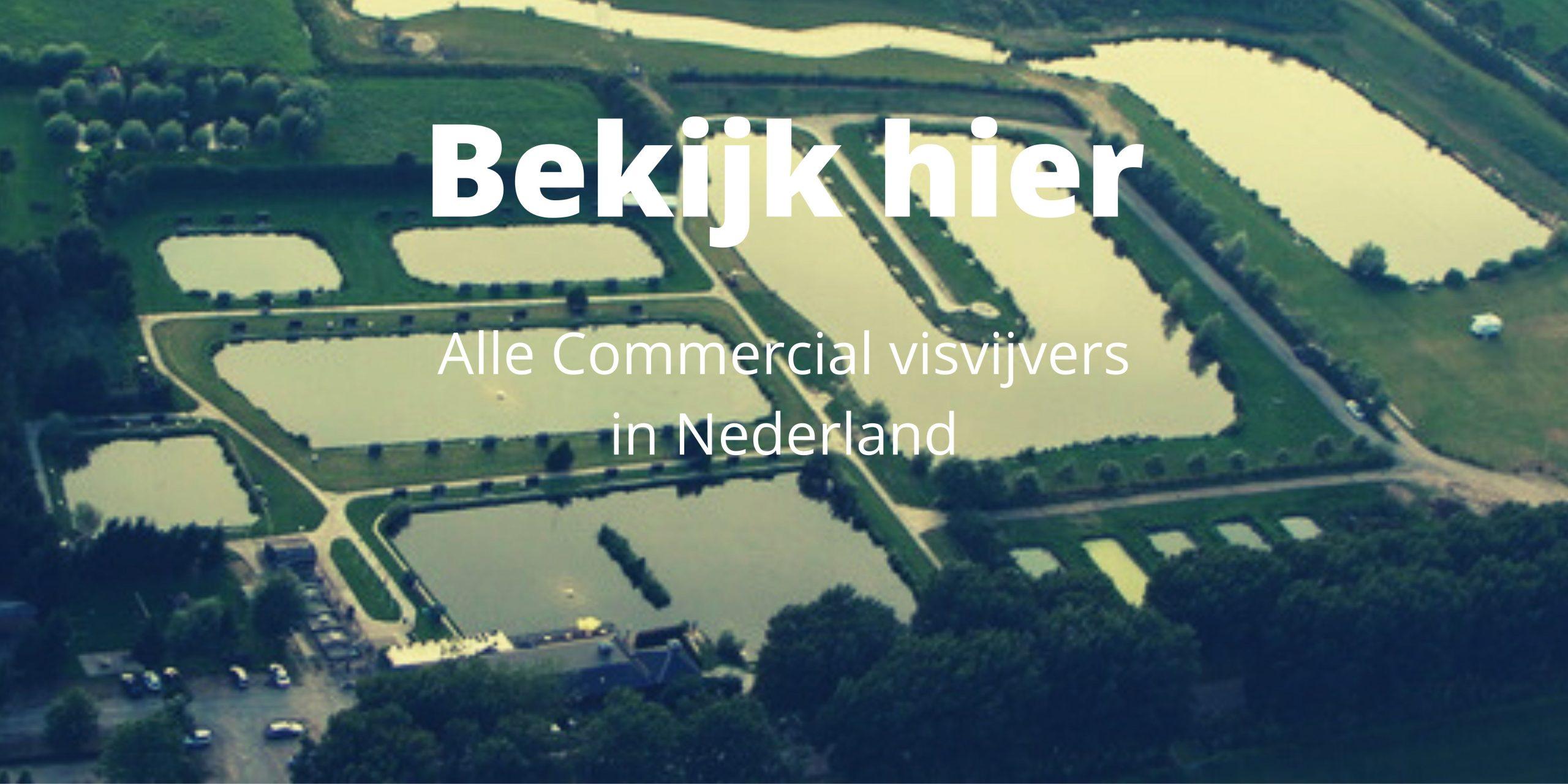 Commercial visvijvers in Nederland